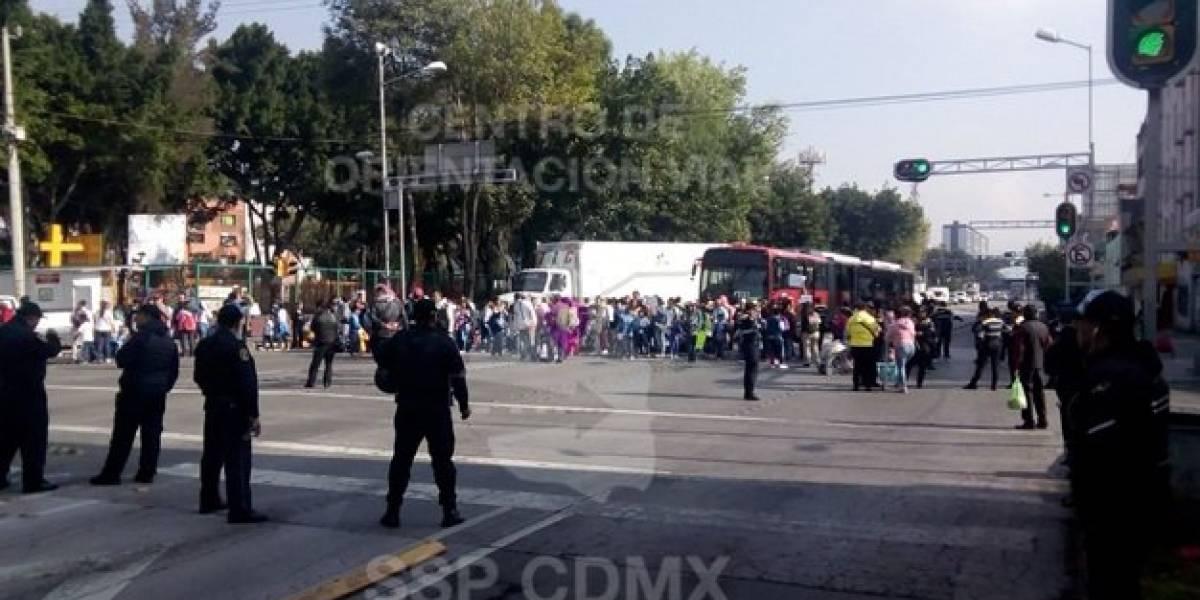 Marchas causan caos vial en al CDMX