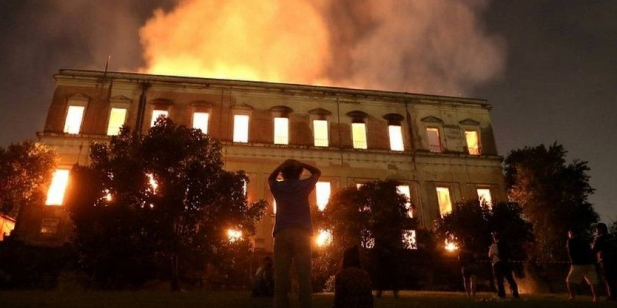 """""""200 años de historia perdidos"""": Lo que devoró el incendio en Brasil"""