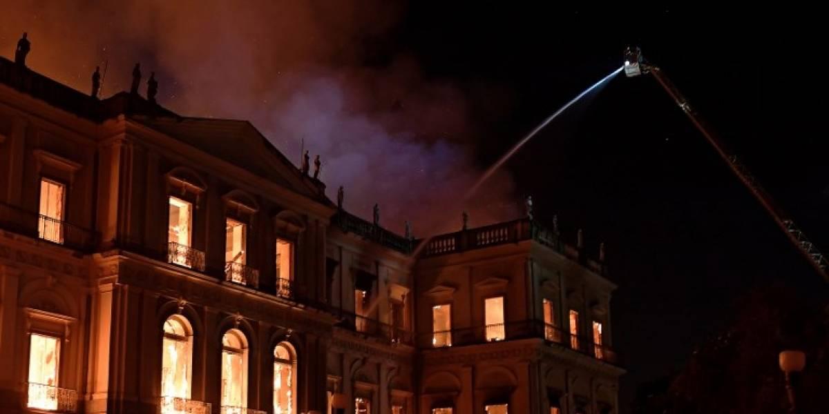 FOTOS. Así quedó el Museo de Río de Janeiro tras el devastador incendio
