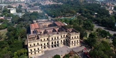 Incendio en Museo Nacional de Rio de Janeiro