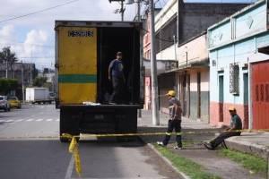 ataque a piloto de camión recolector de basura en zona 3