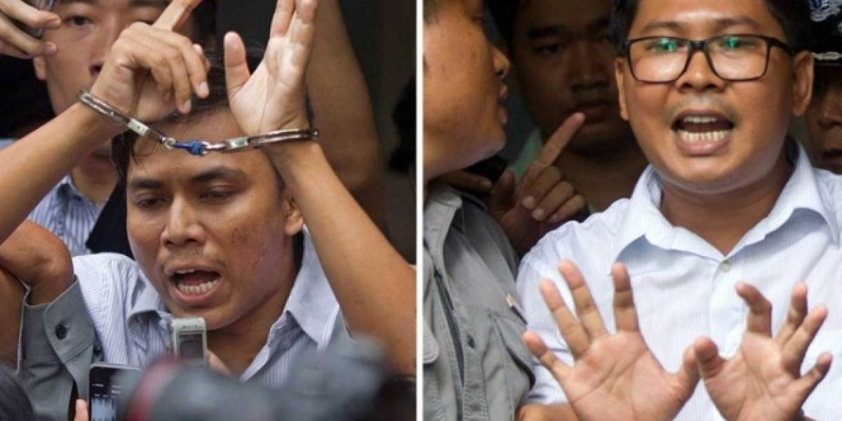 Birmania condena a dos periodistas de la agencia Reuters