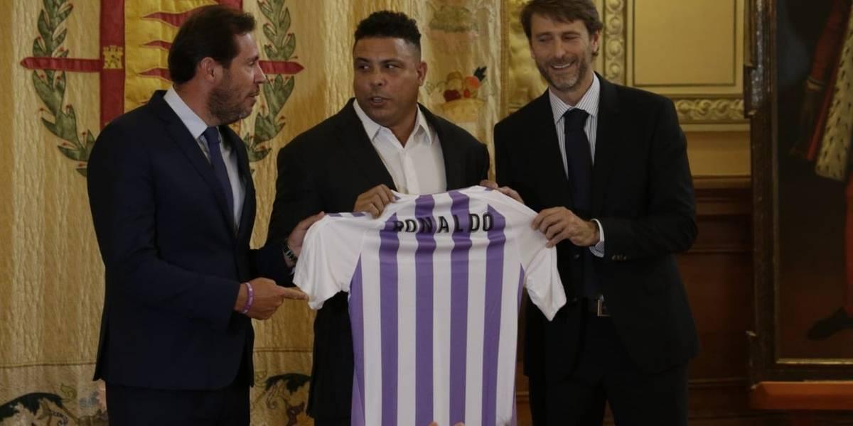 El Fenómeno Ronaldo compra un club español y promete batalla al Barça y Real Madrid