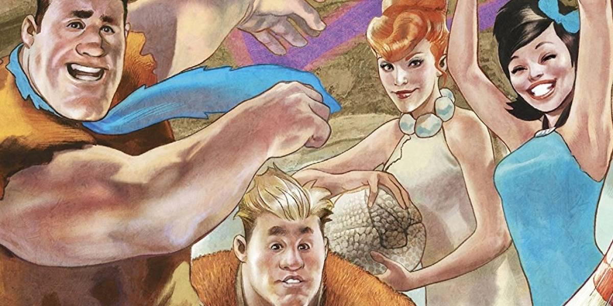 Quadrinho traz família de Fred Flintstone lutando contra ameaça alienígena