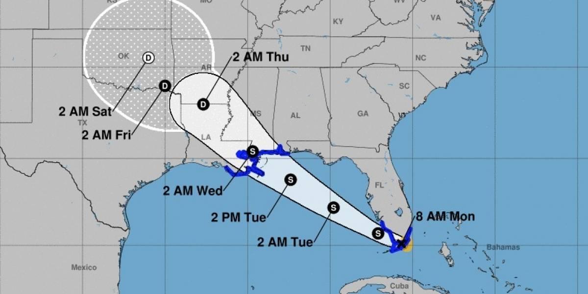 Alerta en el sur de Florida por la tormenta tropical Gordon