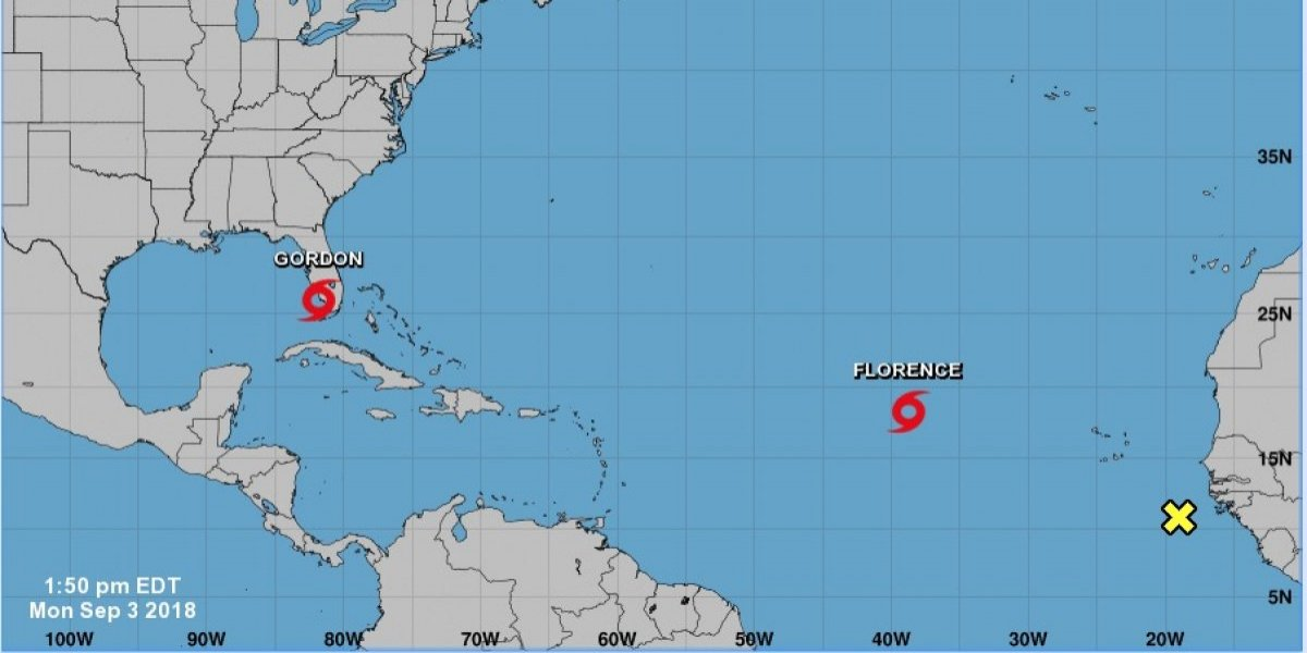 Toma fuerza tormenta tropical Isaac
