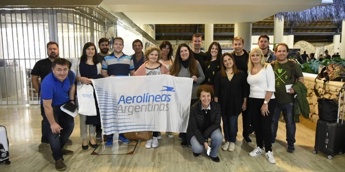 Aerolíneas Argentinas inaugura su primer vuelo directo Córdoba-Punta Cana