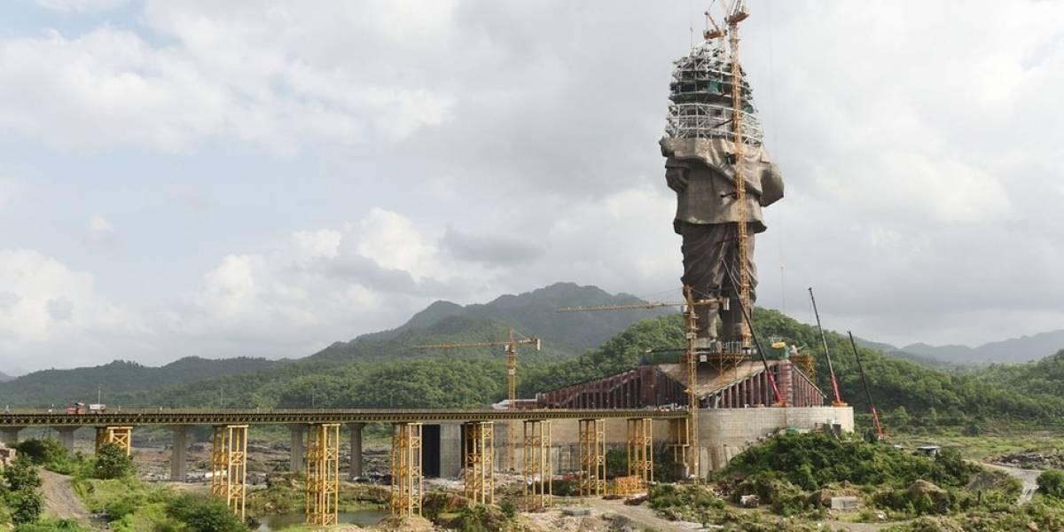 Onde ficará a maior estátua do mundo, prestes a ser concluída