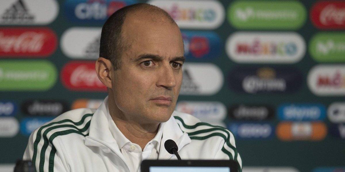 Guillermo Cantú no le cierra la puerta del Tricolor a Almeyda