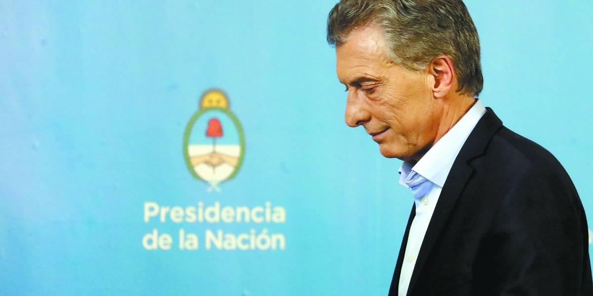 Macri anuncia pacote anticrise para a Argentina