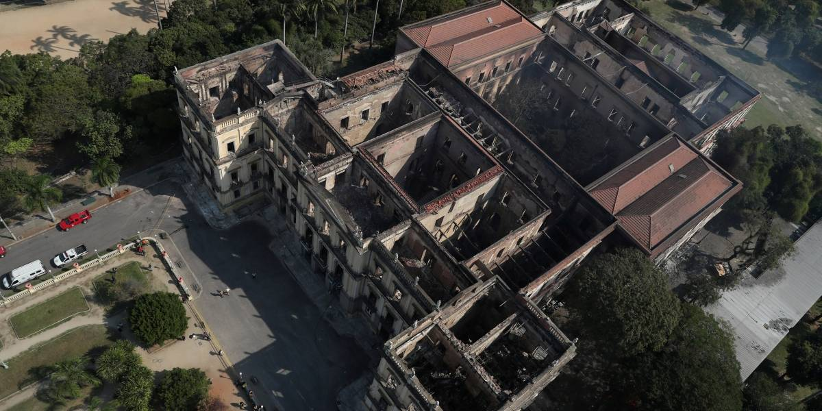 Museu Nacional sofreu sobrecarga no ar-condicionado