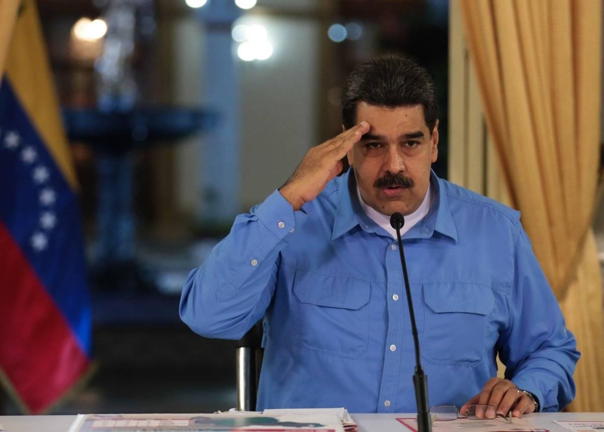 Presidente venezolano, Nicolás Maduro, mientras da anuncios económicos en cadena nacional EFE