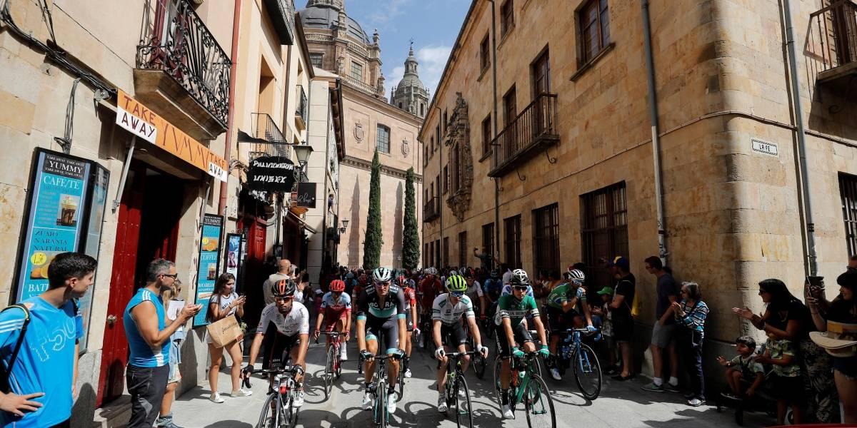Etapa 10 de la Vuelta a España: los favoritos salvaron los pinchazos