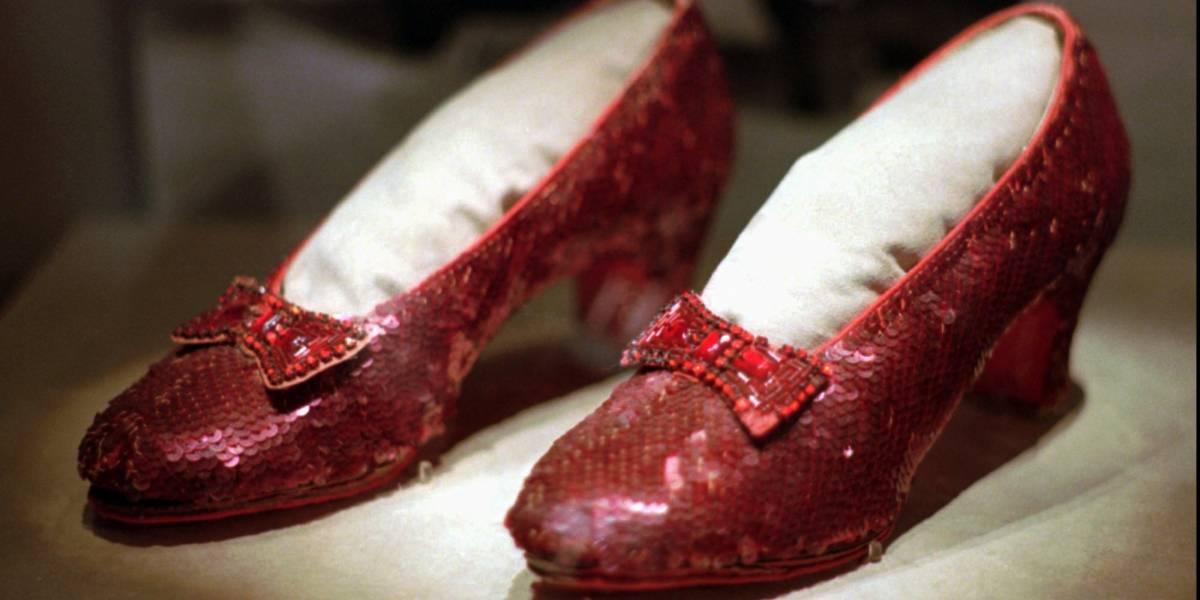 Zapatillas robadas de