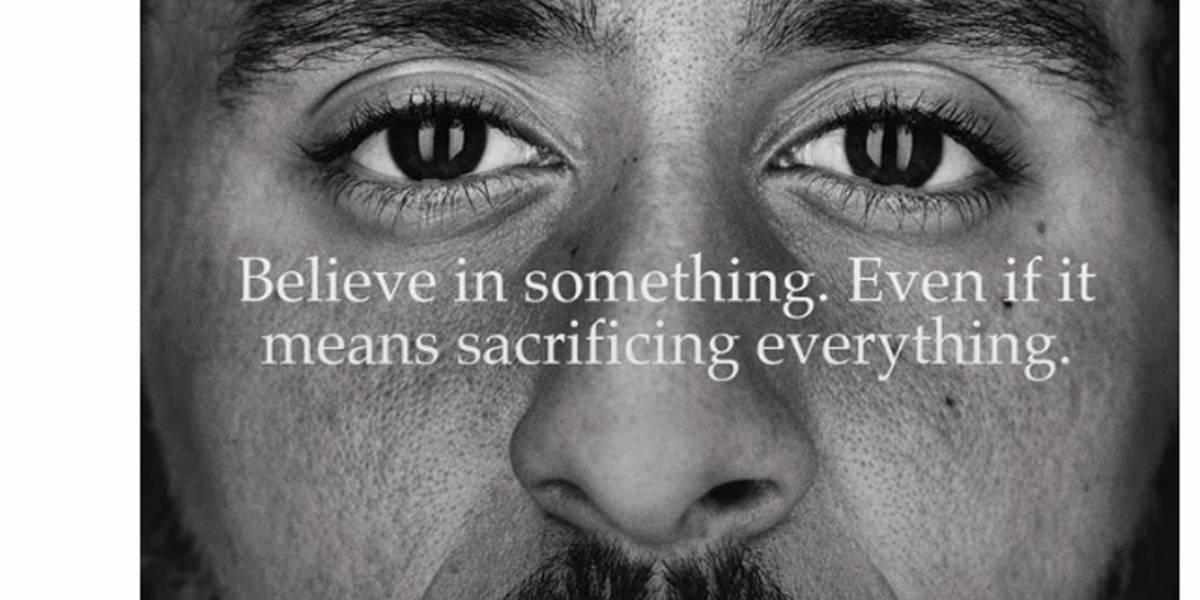¿Es bueno para Nike involucrarse en controversia política?