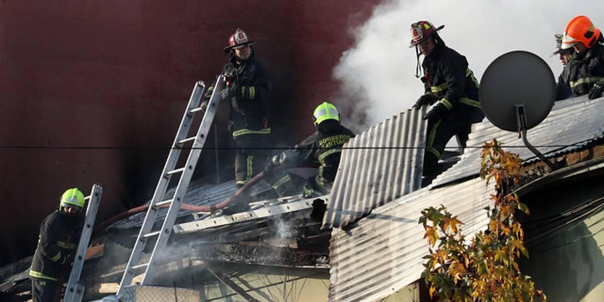 Padre e hijo murieron en incendio que destruyó vivienda en Padre Las Casas