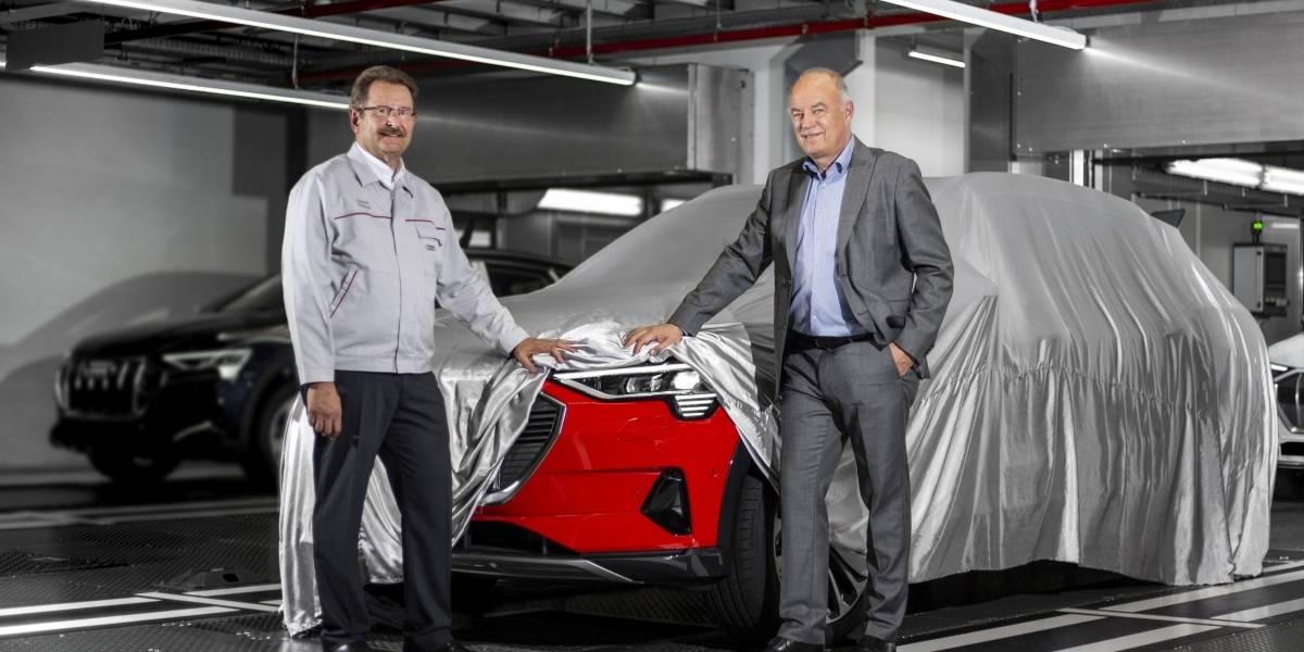 Audi comienza la producción del e-tron