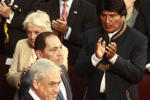 Evo Morales Y Piñera