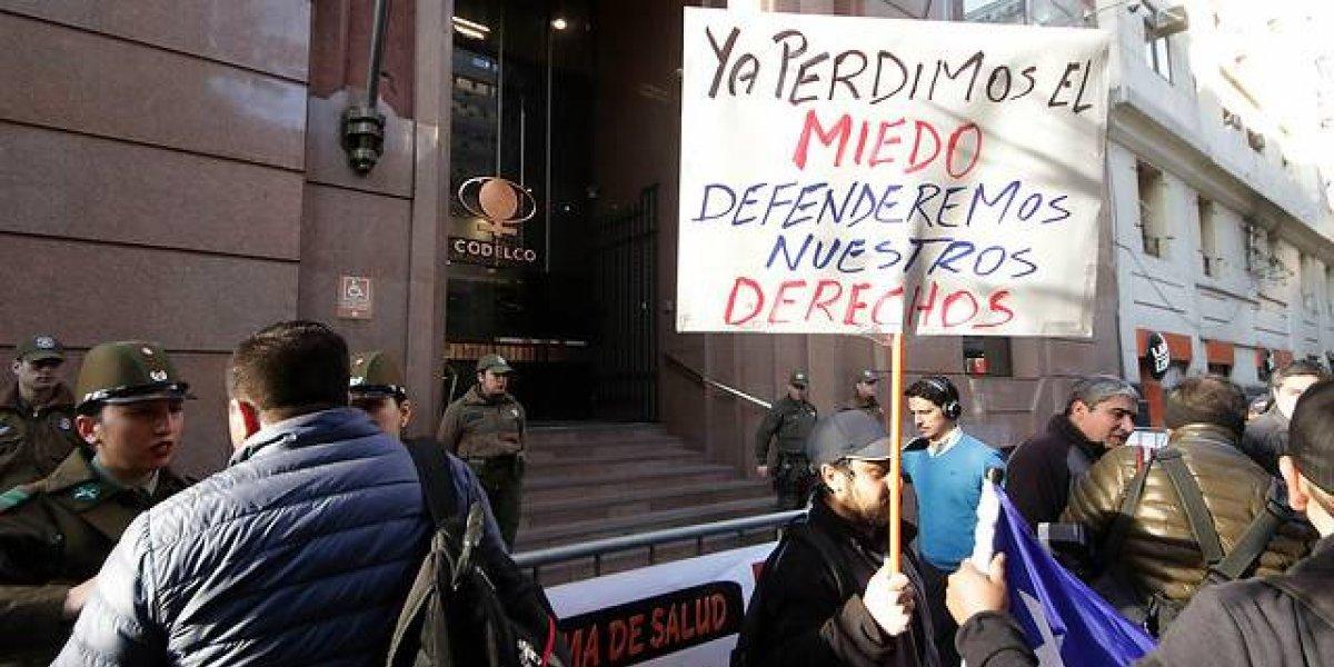 """Sindicato Codelco denuncia posible derrame en el río Aconcagua por personal no capacitado: """"Pizarro mantiene operando la planta con gente que está ilegal"""""""