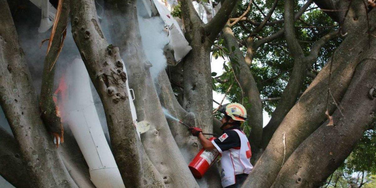 Avioneta cae dentro de una vivienda en Cuernavaca