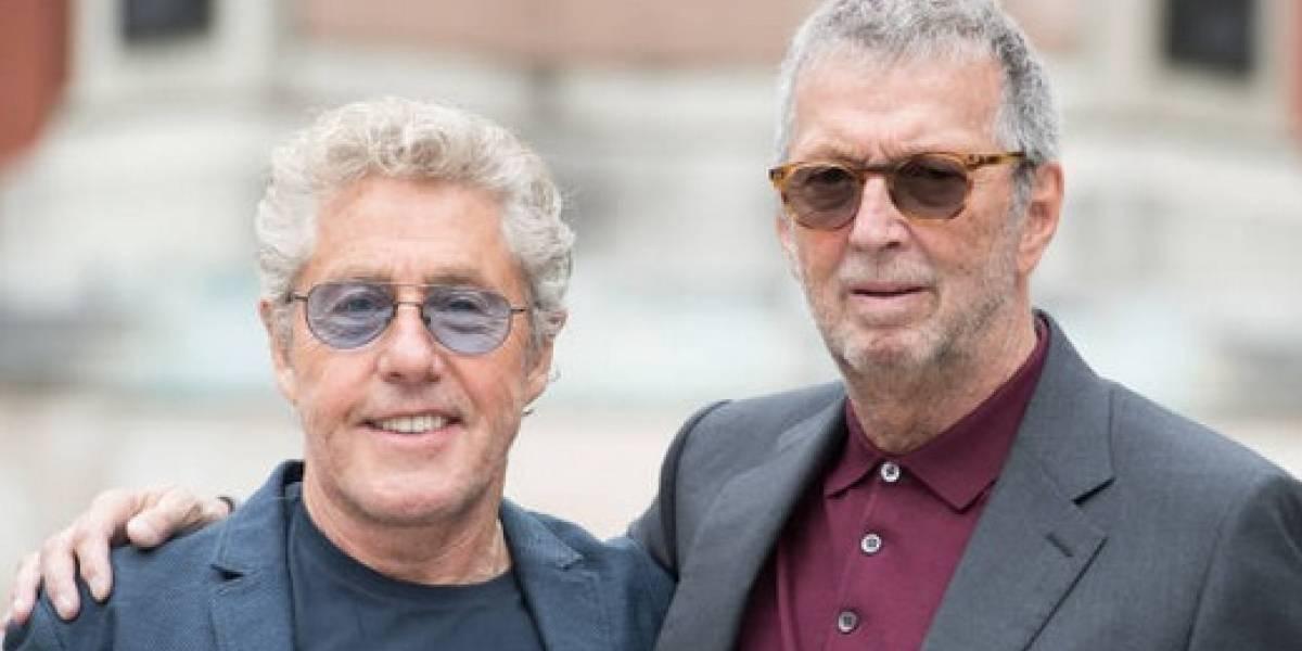 Eric Clapton y Adele llegan al Paseo de la Fama del Royal Albert Hall