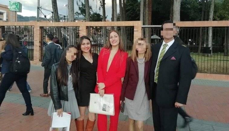 La última foto familiar de las hermanas que murieron en accidente de la Autonorte