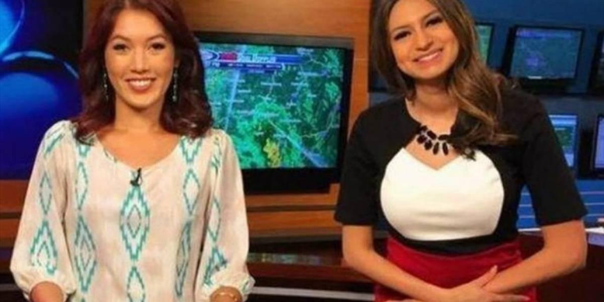 Chica del tiempo fractura el cráneo a presentadora de noticias