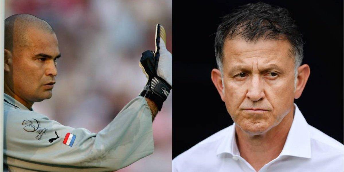 Chilavert da bienvenida a Osorio y le advierte que le espera una ardua tarea