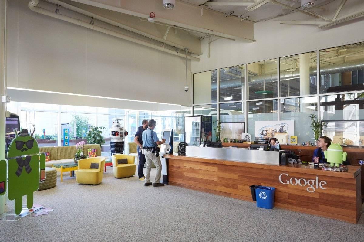Saguão de um dos prédios do complexo Divulgação/Google