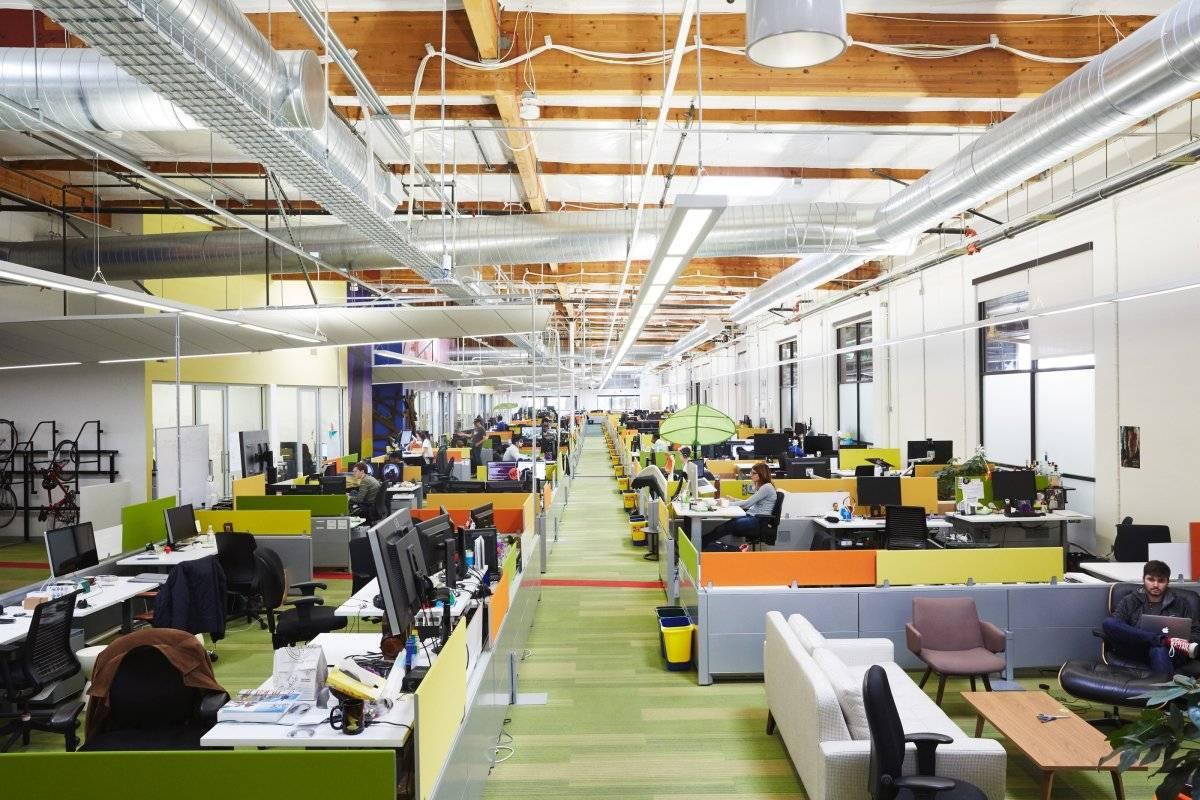 Um dos escritórios do complexo Divulgação/Google