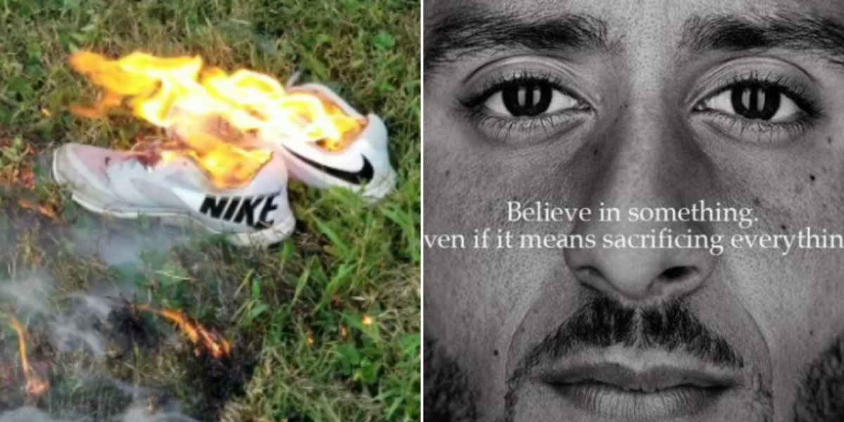 Por que as pessoas estão queimando suas roupas Nike nos Estados Unidos?