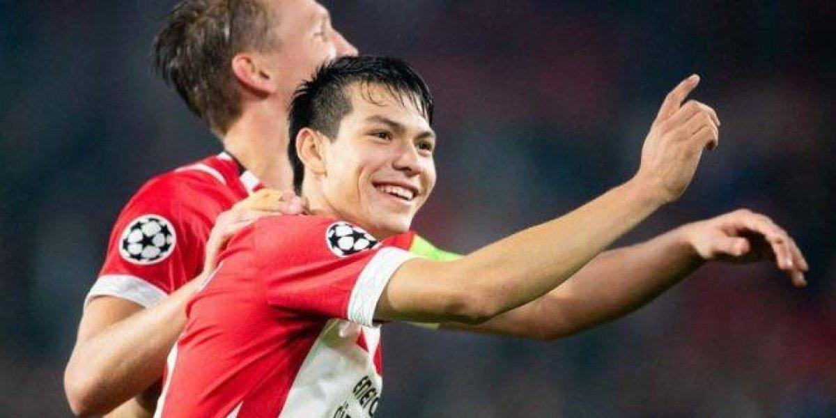 La UEFA pone a Lozano como jugador para brillar en la Champions