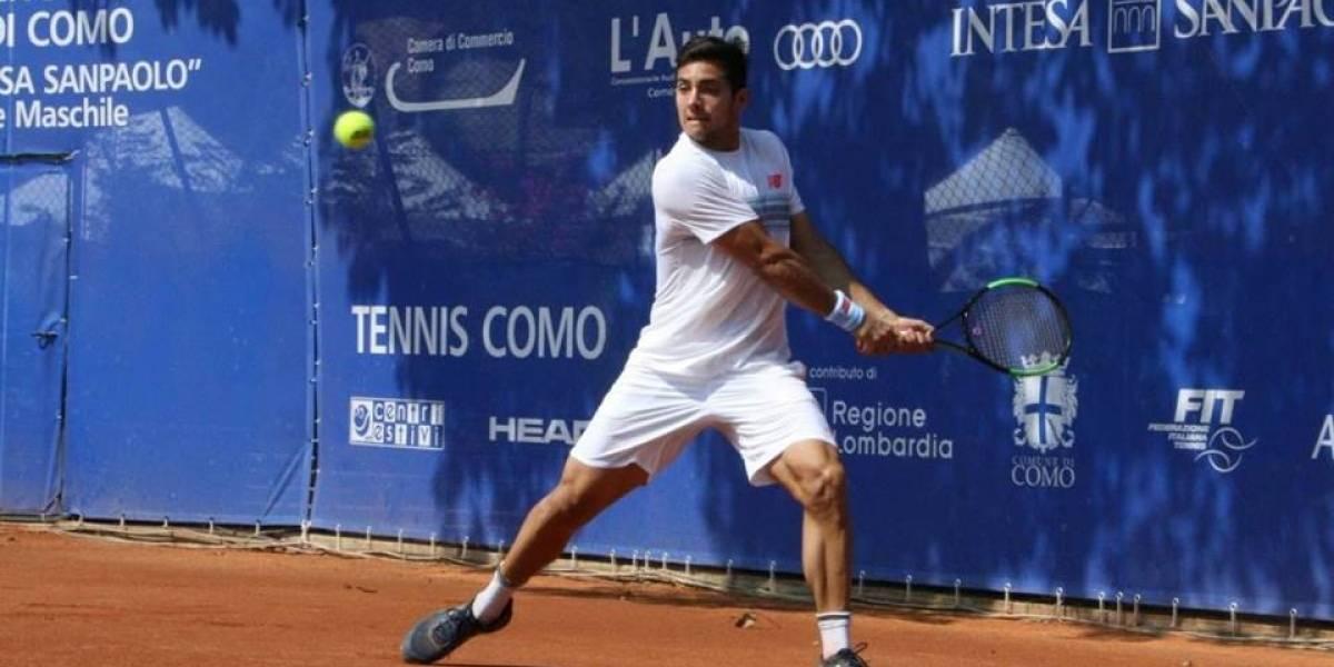 Garín sigue en racha y derriba al mejor tenista brasileño en Challenger de Génova