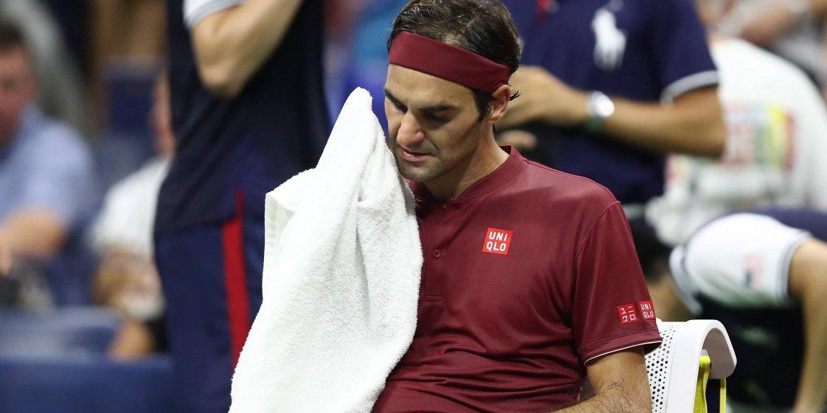 Sentí que no podía respirar: Roger Federer tras eliminación del US Open