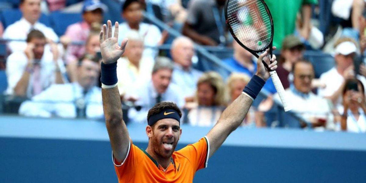 Del Potro sigue imparable en el US Open y podría verse las caras con Nadal en semifinales