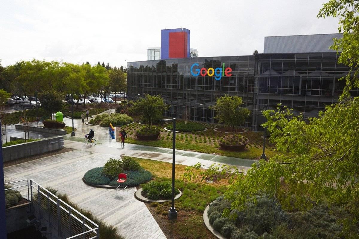 Fachada de um dos prédios do Googleplex Divulgação/Google