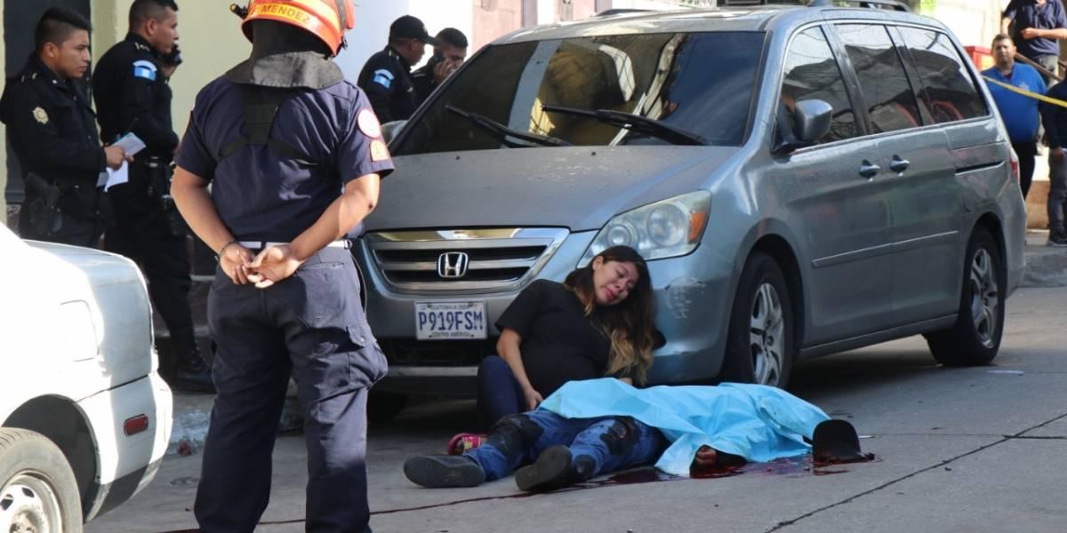 Sicarios asesinan a hombre cuando salía de su casa