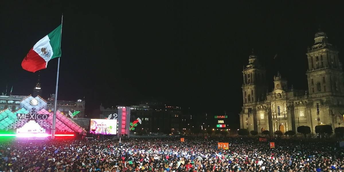 Este será el programa de las fiestas patrias en el Zócalo capitalino