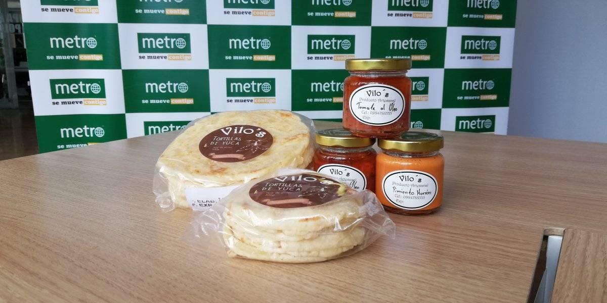 Tortillas de yuca de Vilo