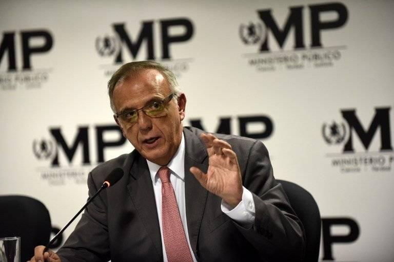 comisionado de CICIG Iván Velásquez