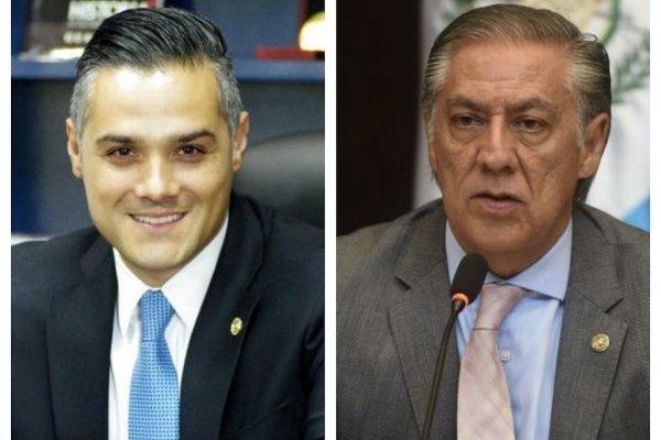Luis Hernández Azmitia y Luis Fernando Montenegro