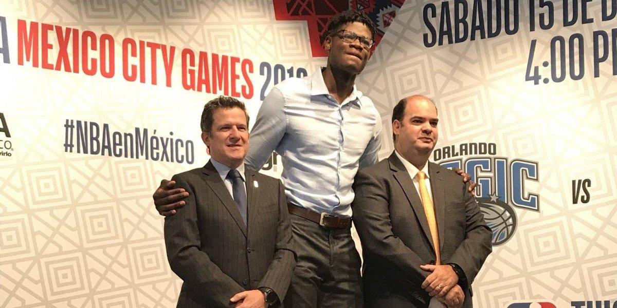 Boletos para los juegos de NBA en México costarán entre 325 y 6,500 pesos