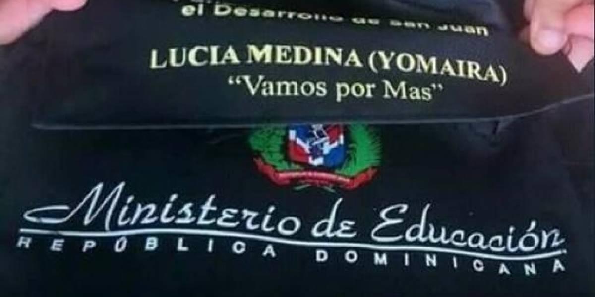 JCE investigará donaciones de mochilas por parte de Lucía Medina