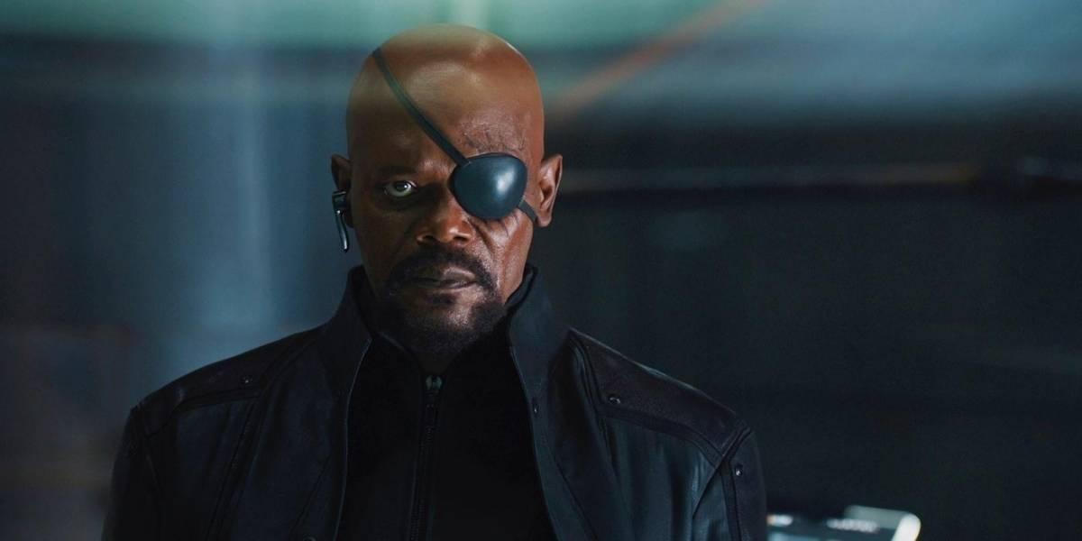 Nova foto dos bastidores de Homem-Aranha: Longe de Casa mostra preparação de Nick Fury