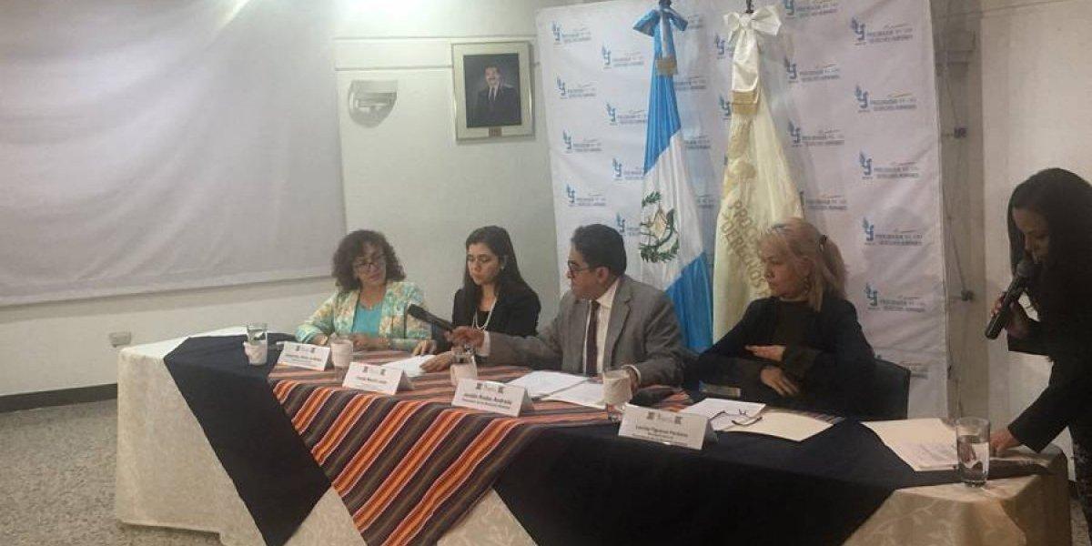 VIDEO. PDH exige a Morales revertir medida contra jefe de CICIG