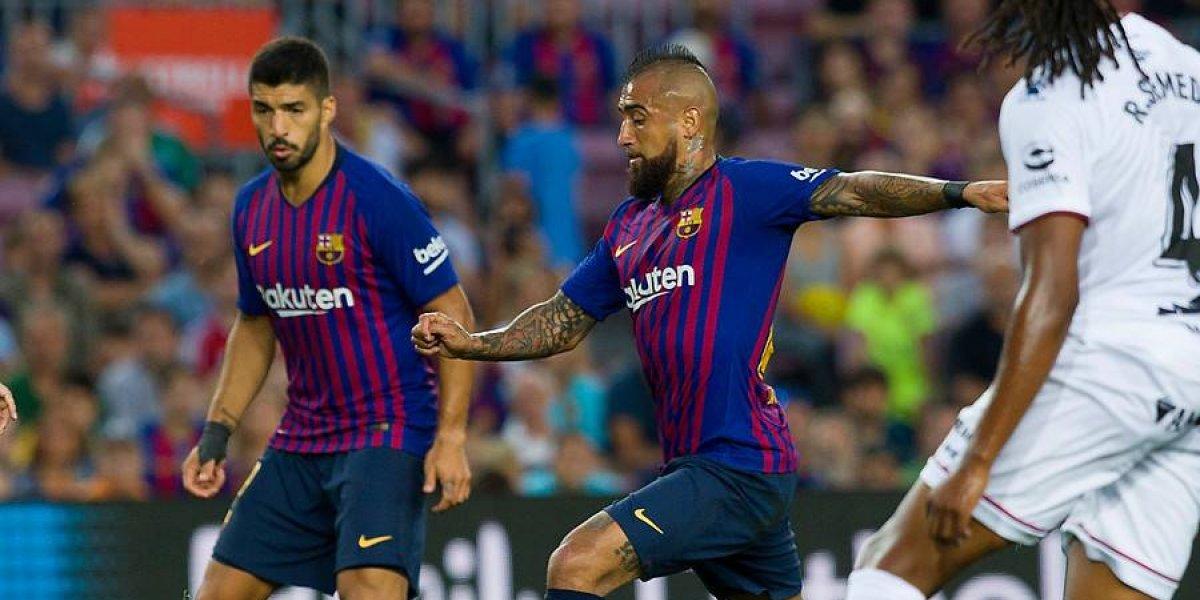 """Luis Suárez también se rindió ante Vidal en Barcelona: """"Es de esos jugadores que daría la vida por nosotros"""""""
