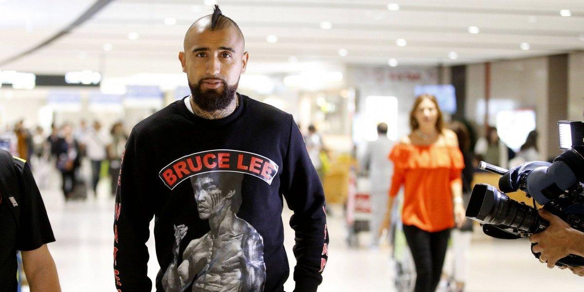 """Arturo Vidal llega con calma a la Roja en Japón: """"Sería apresurado decir que estoy para jugar 90 minutos"""""""