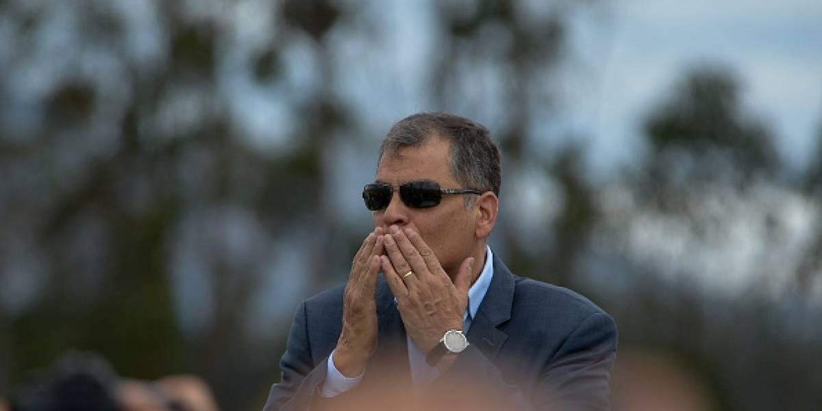 Rafael Correa anuncia que iría a la cárcel 4 por el cumpleaños de Jorge Glas