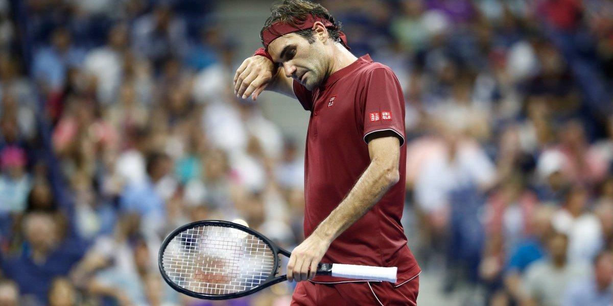 Roger Federer cae sorpresivamente del US Open