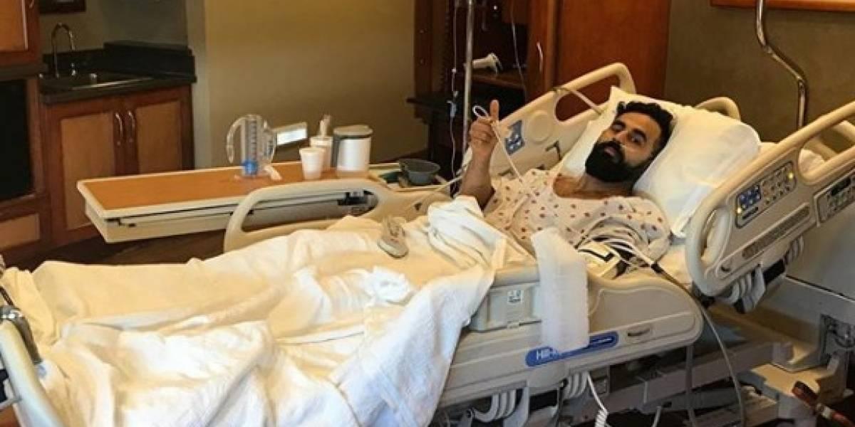 FOTOS: El impresionante cambio de un luchador de la WWE tras una lesión